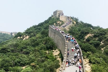 夏季特惠 八达岭长城+颐和园+清华北大+鸟巢水立方外景一日游