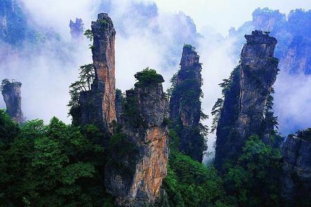 【絕美張家界】桂林到張家界玻璃橋、森林公園、天門山雙動五日游