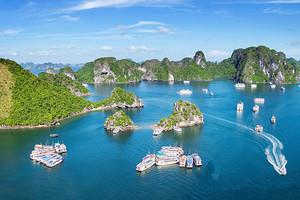 北海出发去越南下龙、海防、河内+德天瀑布通灵大峡谷6天5晚游