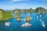 从南宁出发到德天瀑布、越南下龙湾、北海涠洲岛7日游价格
