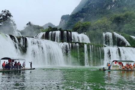 北海到德天瀑布旅游线路_德天瀑布和通灵大峡谷2日游
