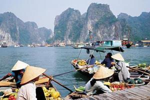 花漾吉婆岛  北海到越南下龙湾 吉婆岛 海防 河内四天三晚游
