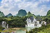 南宁德天瀑布、通灵大峡谷、北海银滩、涠洲岛6日游(定制游)