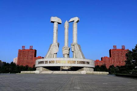 朝鲜平壤市区三日游_朝鲜凯旋门、万景台深度游(纯玩团)