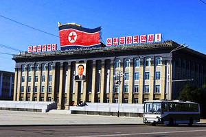 丹东出发朝鲜红色之旅_朝鲜平壤桧仓郡_毛岸英烈士陵园四日游