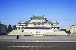 解锁朝鲜_眼中不一样的朝鲜大街_朝鲜入境三日游