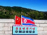 丹东出发到朝鲜一日游_朝鲜一日游中心广场看金日成主席铜像