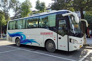 桂林旅游大巴包车_桂林会议租车33-39座大巴